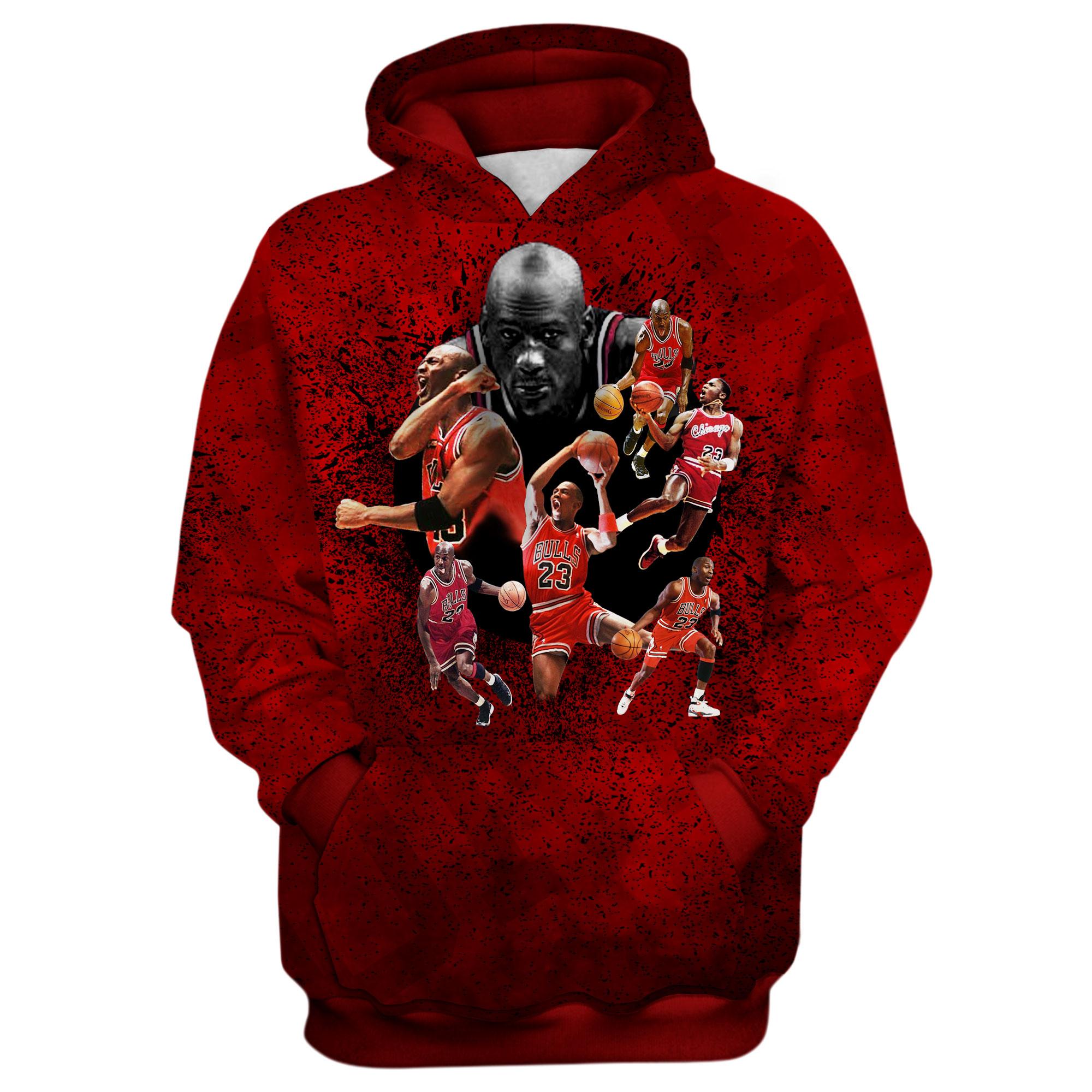 Michael Jordan 3D Hoodie (HD-3D-1026)
