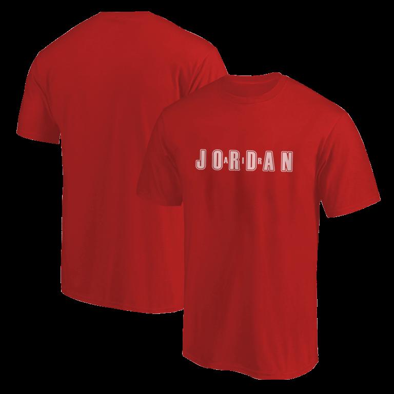 Air Jordan Tshirt (TSH-RED-NP-295-PLYR-JORDAN.AIR)