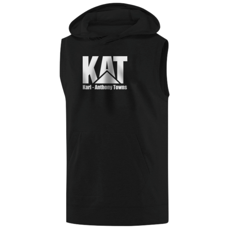Karl Anthony Towns Sleeveless (KLS-black-NP-kat-logo)