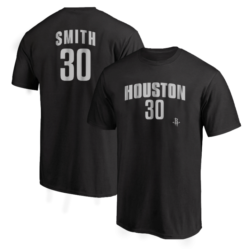 Houston Rockets Kenny Smith Tshirt (TSH-RED-PLT-Smith30-618)
