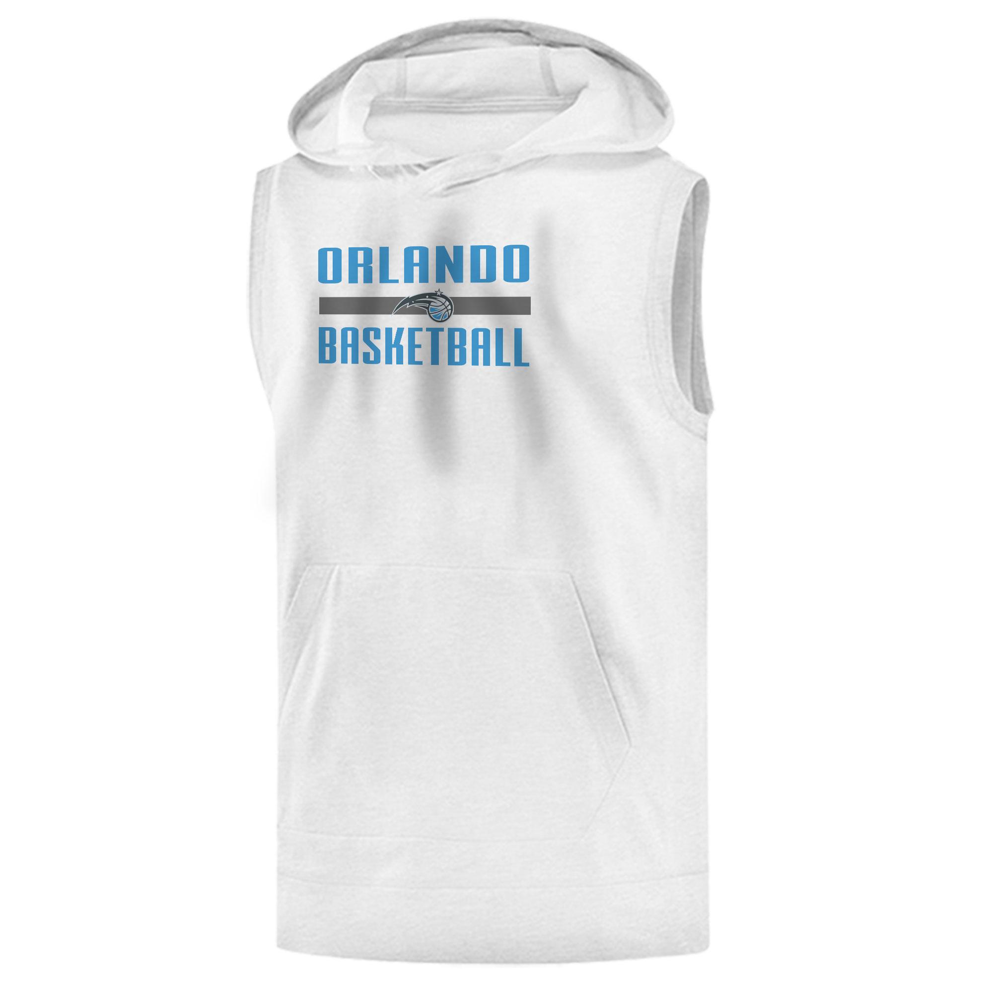 Orlando Magic Basketball Sleeveless (KLS-WHT-442-orl.bsktbll)