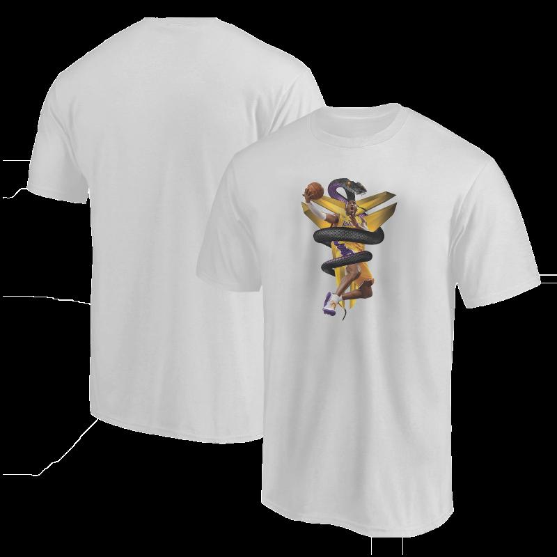 Kobe Bryant Tshirt (TSH-WHT-NP-133-PLYR-LAL-KOBE.MAMBA)