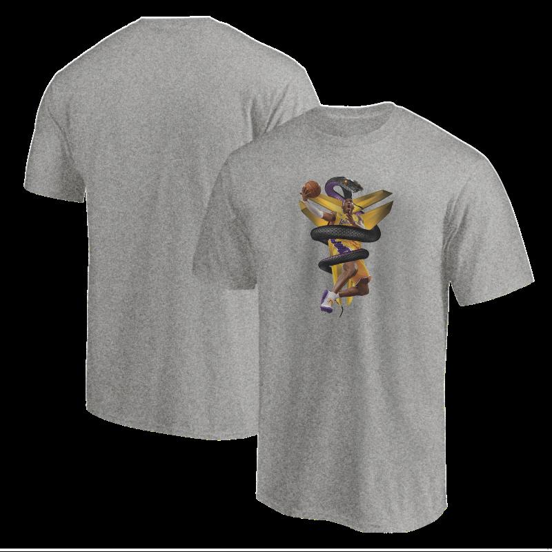 Kobe Bryant Tshirt (TSH-GRY-NP-133-PLYR-LAL-KOBE.MAMBA)