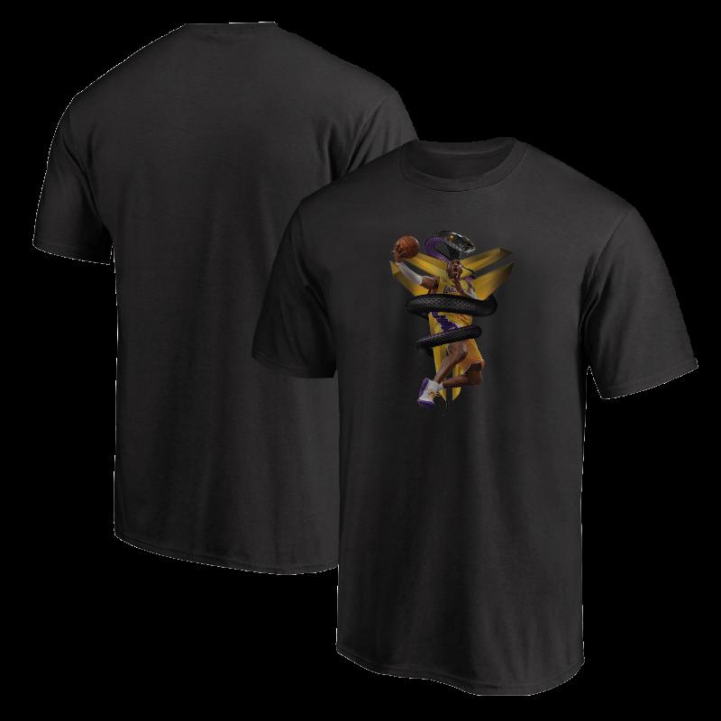Kobe Bryant Tshirt (TSH-BLC-NP-133-PLYR-LAL-KOBE.MAMBA)