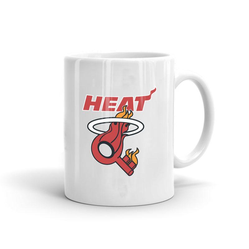 Miami Heat Key Mug (mug-miami-heat-key)