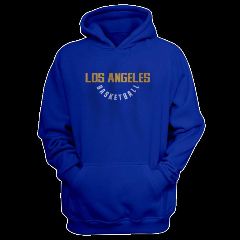 Los Angeles Hoodie (HD-BLU-NP-267-NBA-LAL-WARM.UP)