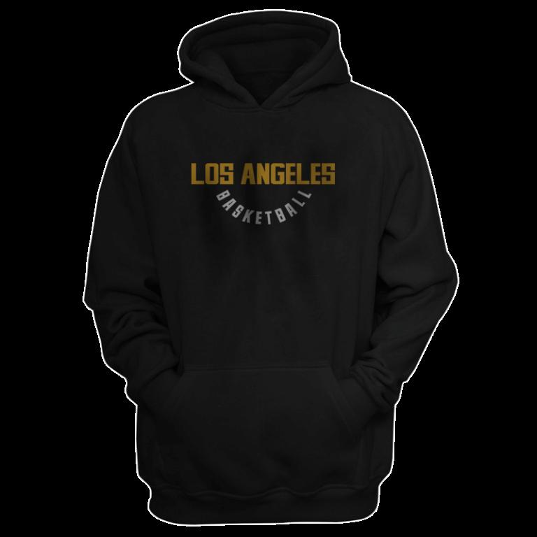 Los Angeles Hoodie (HD-BLC-NP-267-NBA-LAL-WARM.UP)