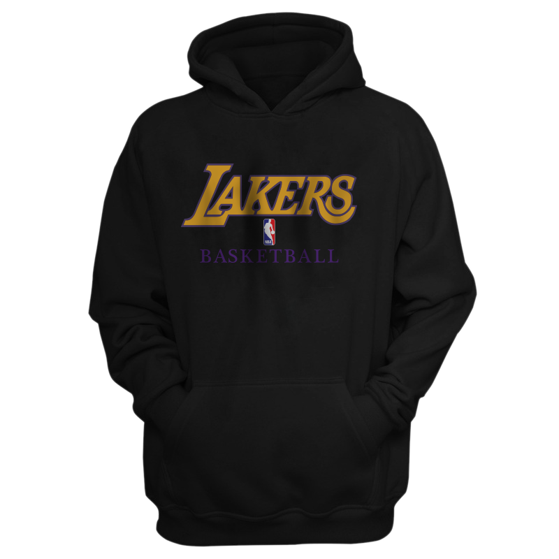 L.A. Lakers Los Angeles Lakers Hoodie  (HD-BLC-144-NBA-LAL-LAKERS.BSK.FLAT)