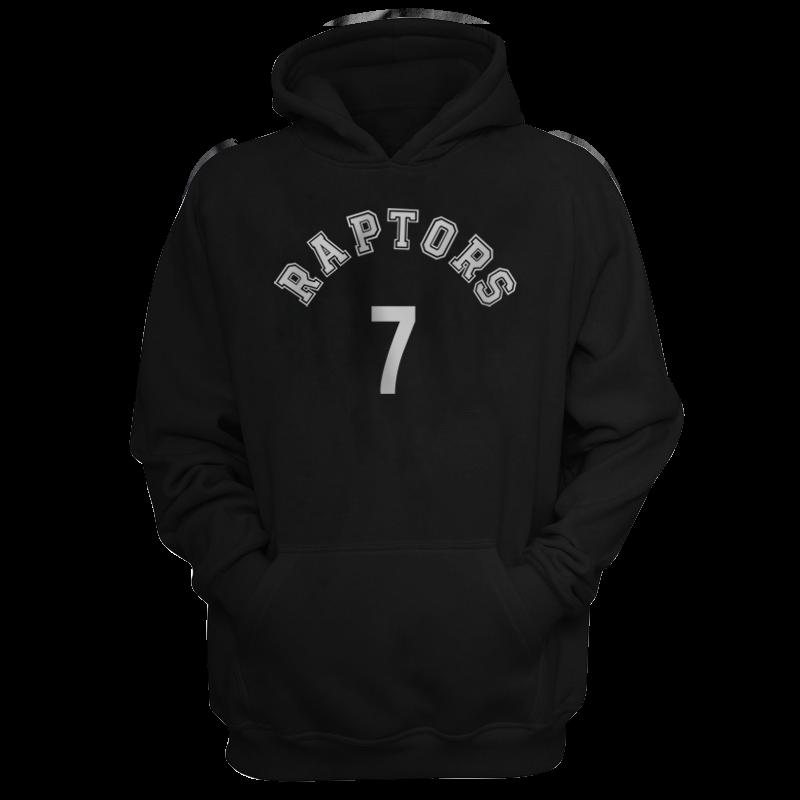 Toronto Raptors Kyle Lowry Hoodie (HD-RED-PLT-tor-KyleLowry-621)