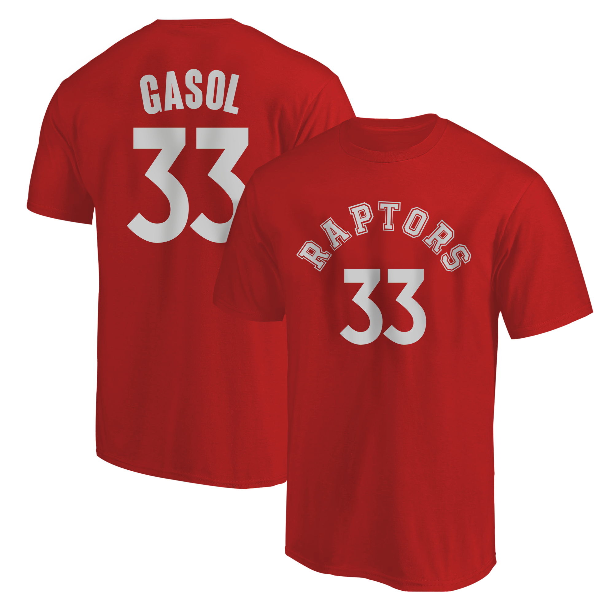 Marc Gasol Tshirt (TSH-RED-PLT-tor-MarcGasol-623)