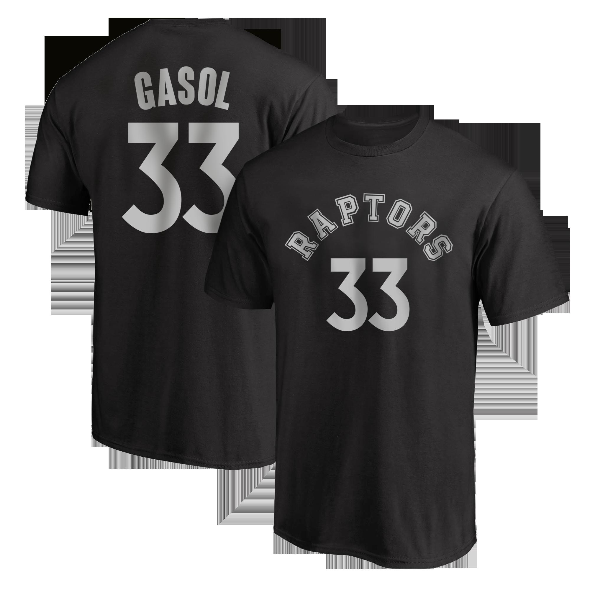 Toronto Raptors Marc Gasol Tshirt (TSH-BLC-PLT-tor-MarcGasol-623)