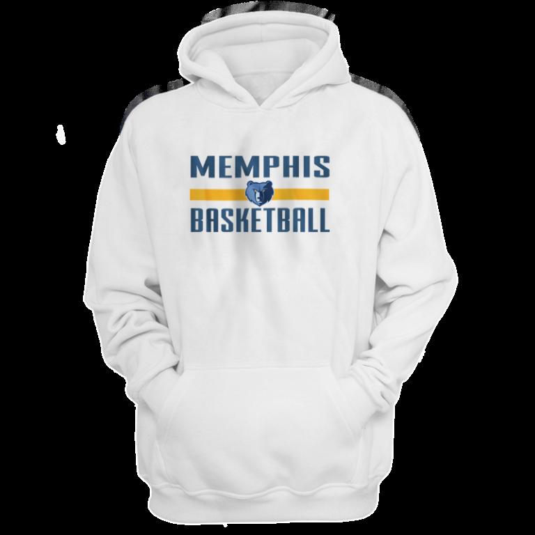 Memphis Grizzlies Basketball Hoodie  (HD-WHT-NP-mem.bsktbll-527)