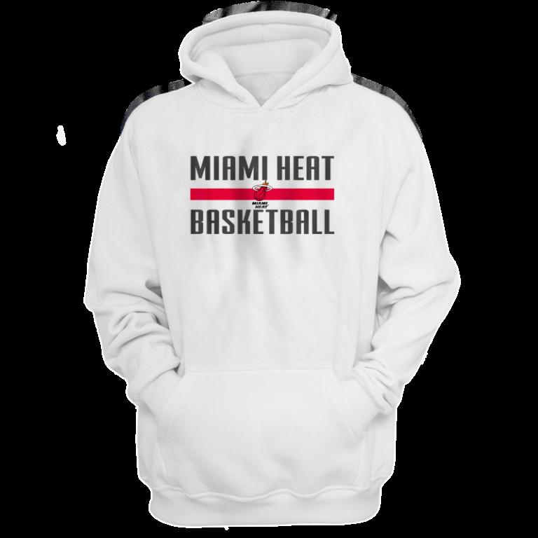 Miami Heat Basketball Hoodie  (HD-WHT-NP-miami-bsktbll-528)