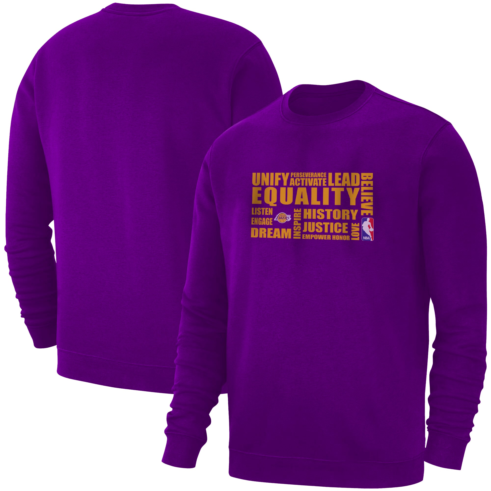 EQUALITY L.A. Lakers Basic (BSC-PRP-NP-290-NBA.LAL.yllw)