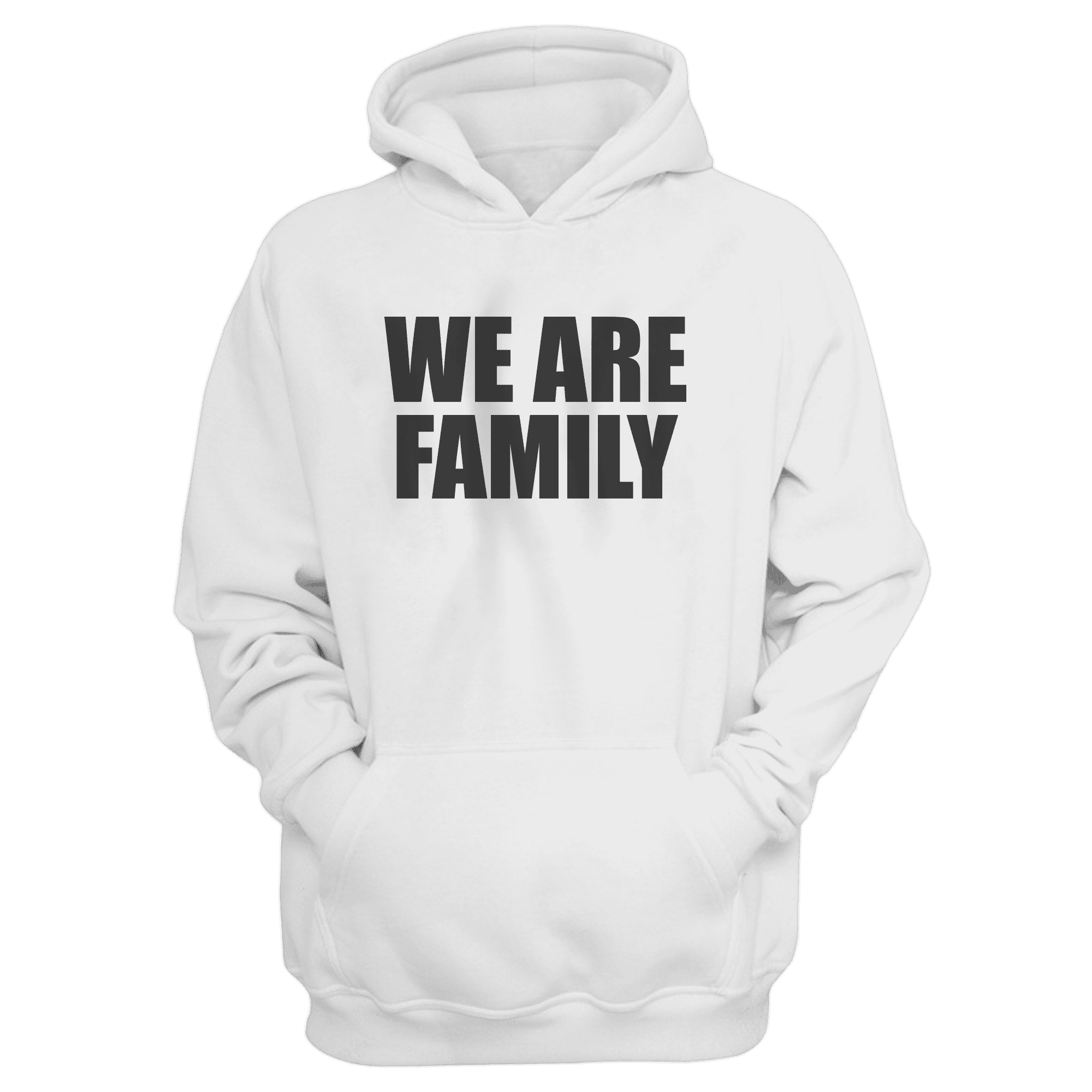 We Are Family Hoodie (HD-wht-KLS-WHT-NP-WSH-BSKTBLL-wefamily-Syh-542)