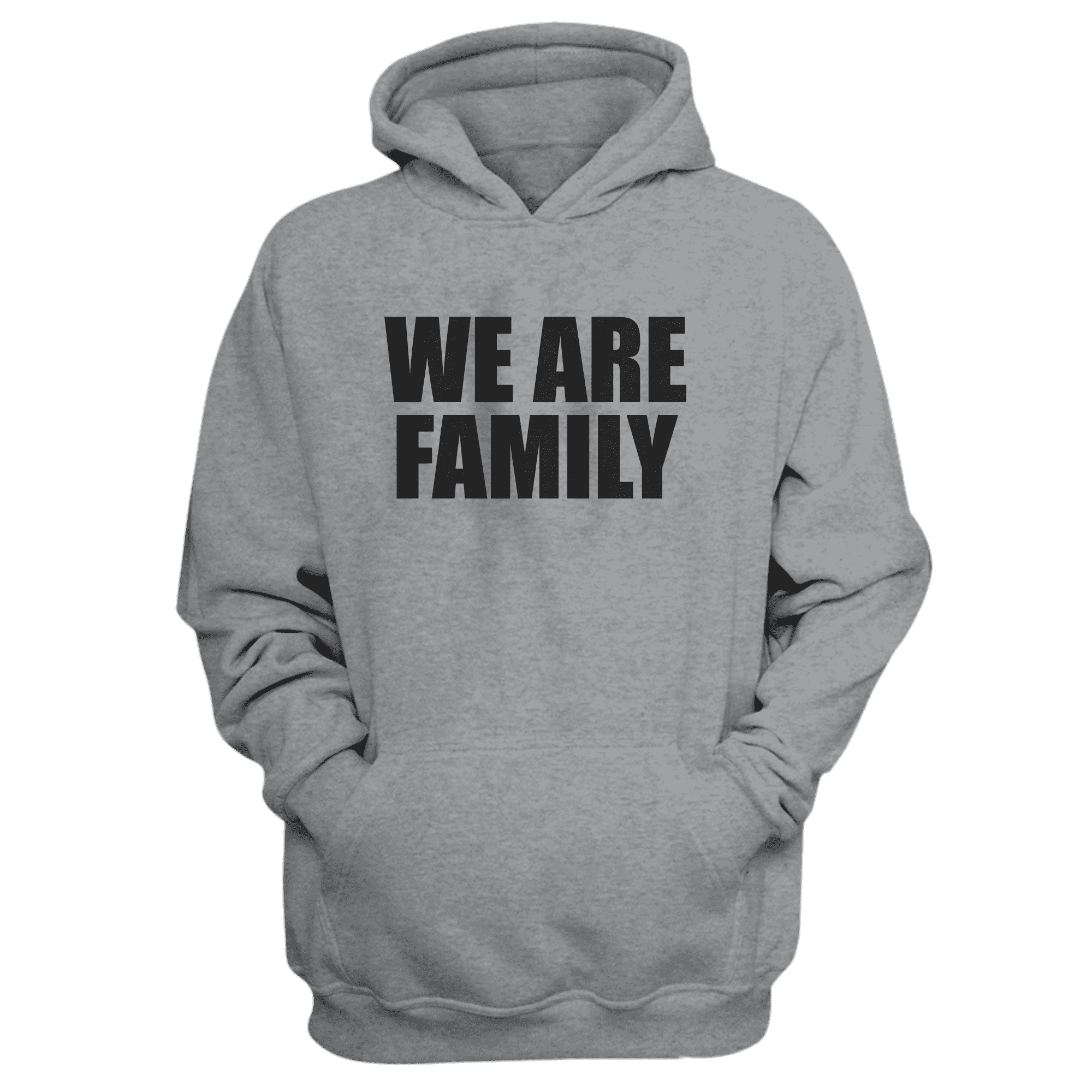 We Are Family Hoodie (HD-GRY-KLS-WHT-NP-WSH-BSKTBLL-wefamily-Syh-542)