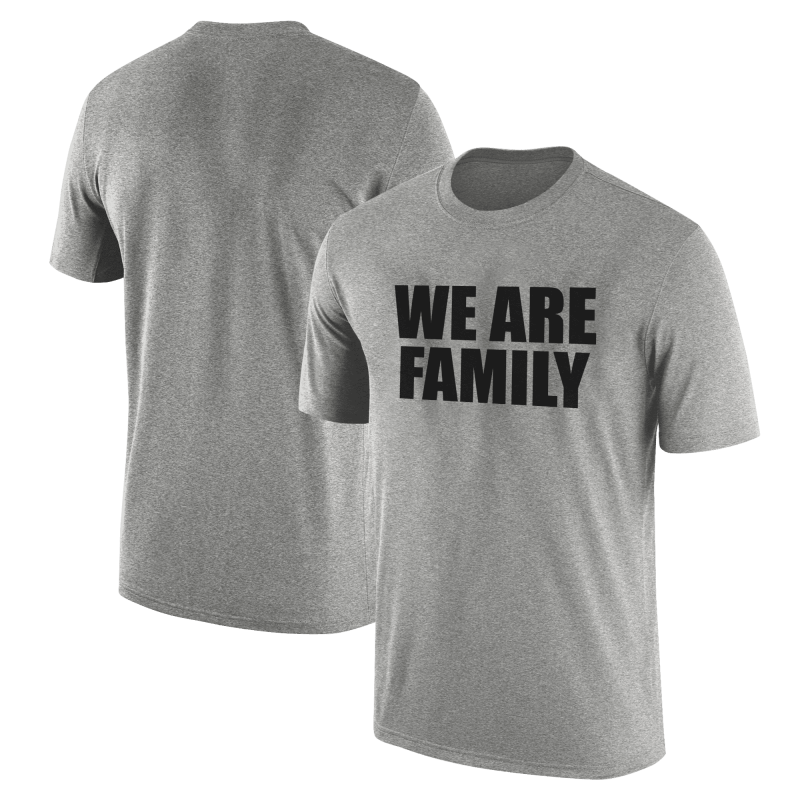 Nba Logo Gear We Are Family  Tshirt (TSH-WHT-SKR-wefamily-Syh-542)