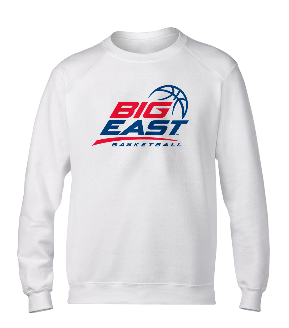 Big East Basketball Basic (BSC-WHT-ncaa-NP-bigeast-651)