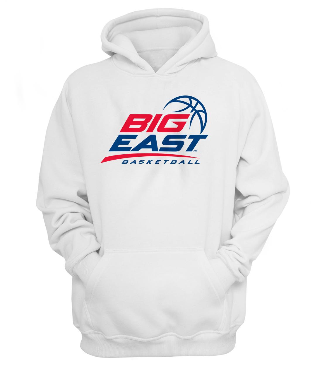 Big East Basketball Hoodie (HD-WHT-ncaa-NP-bigeast-651)