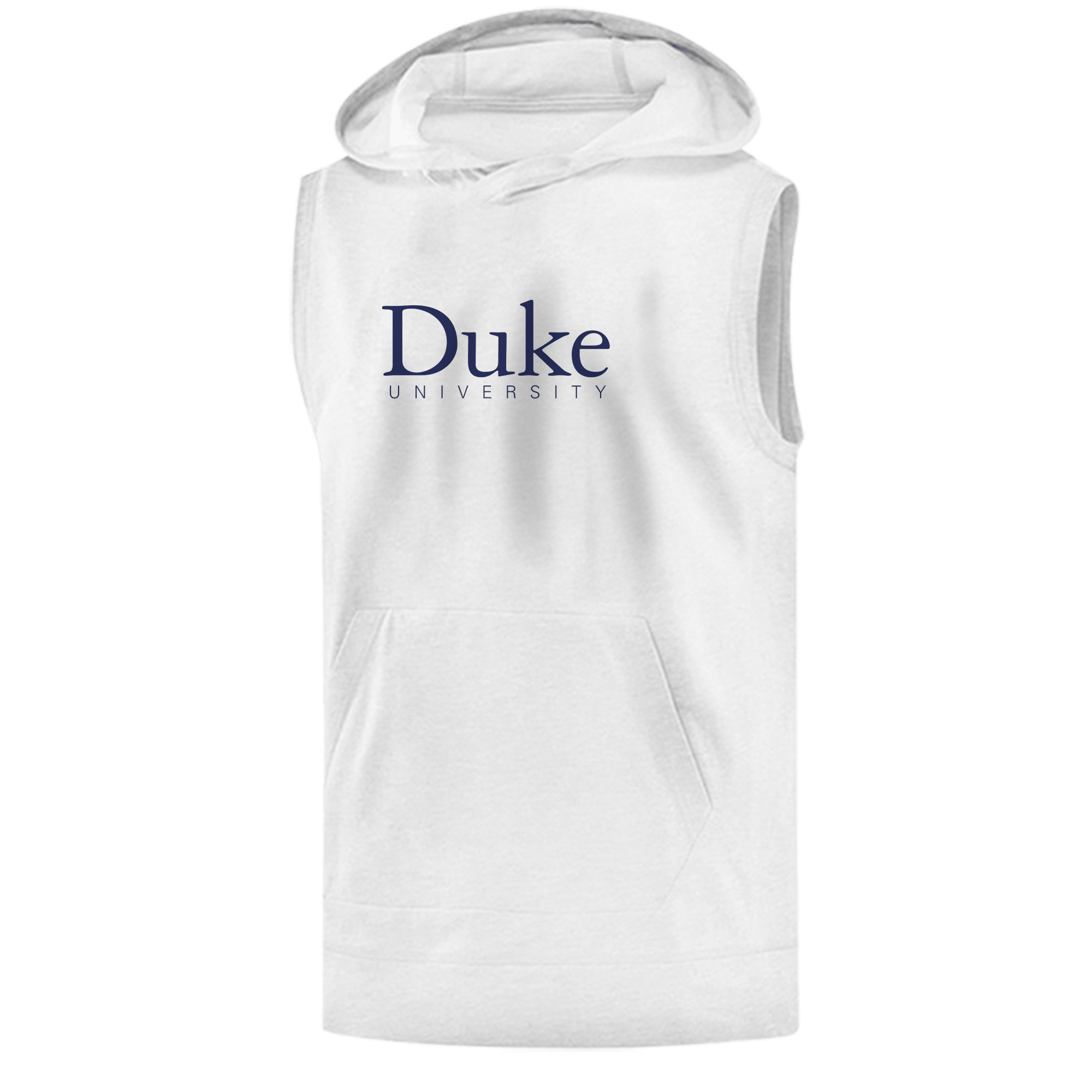 Duke University Sleeveless (KLS-WHT-ncaa-NP-duke-512)