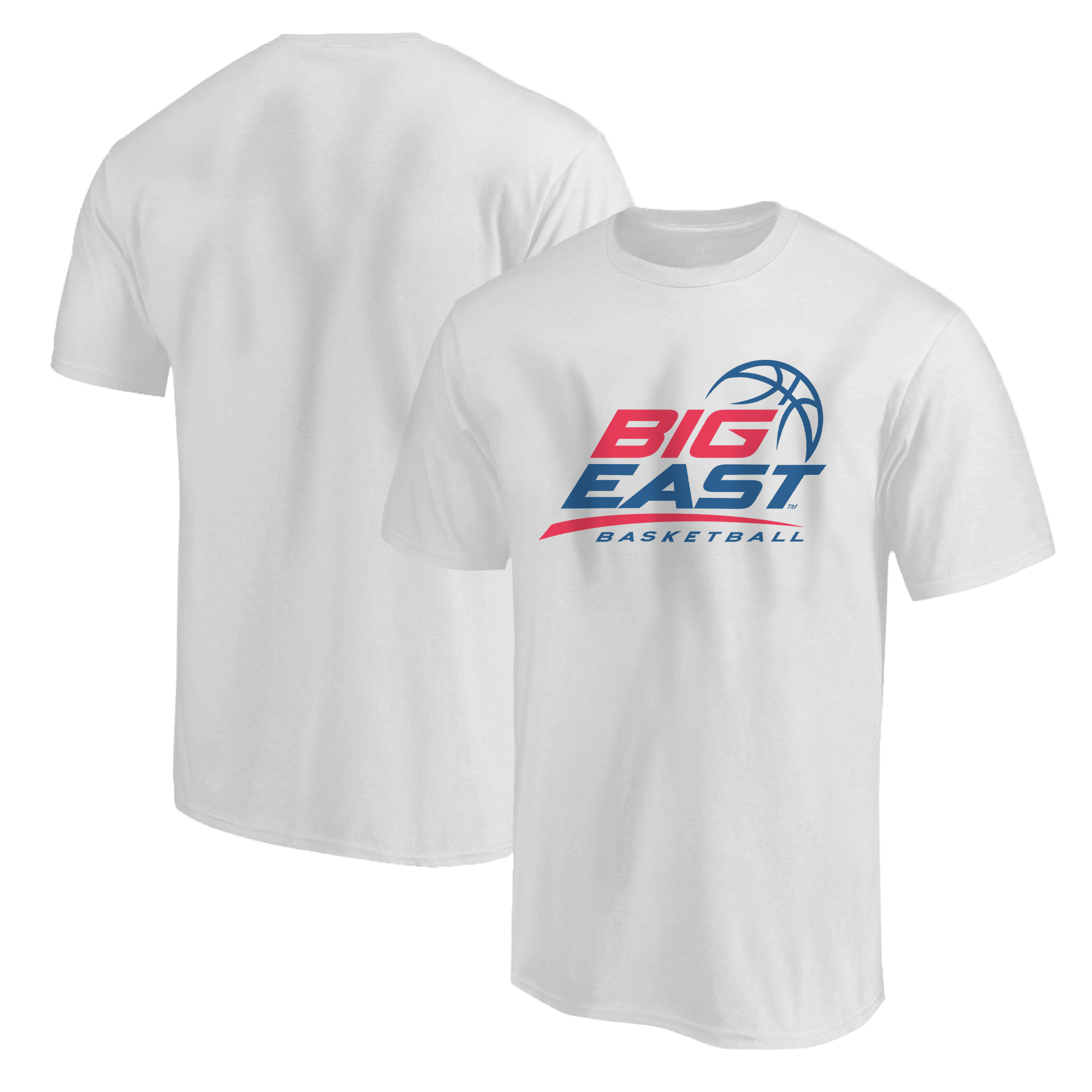 Big East Basketball Tshirt (TSH-WHT-ncaa-NP-bigeast-651)