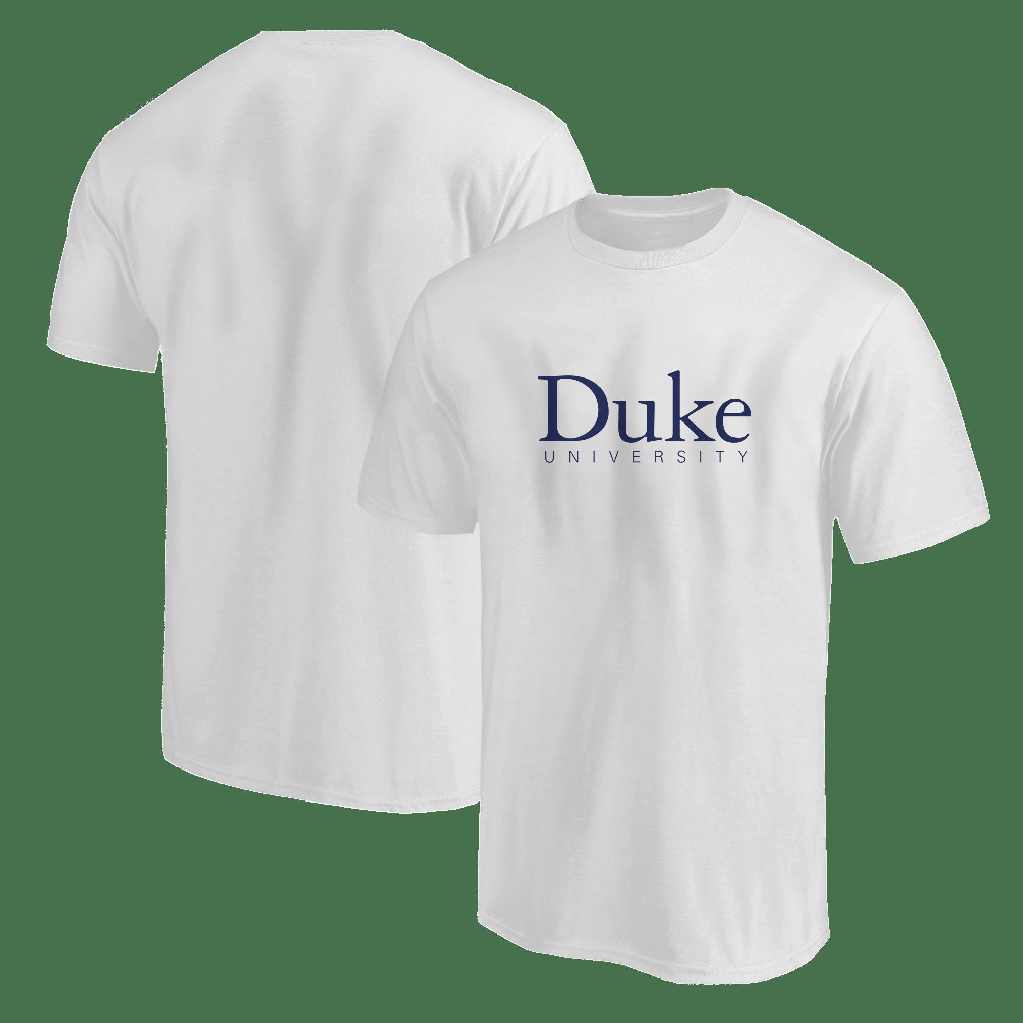 Duke University Tshirt (TSH-white-ncaa-NP-Duke-512)