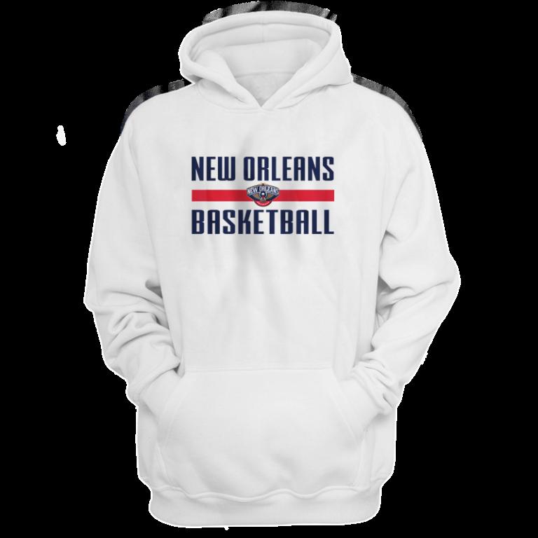 New Orleans Basketball Hoodie (HD-WHT-NP-orlns.bsktbll-530)