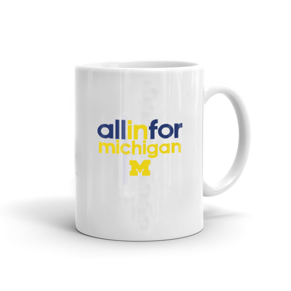 NCAA All in One Michigan Mug (MUG-mchgn-all)