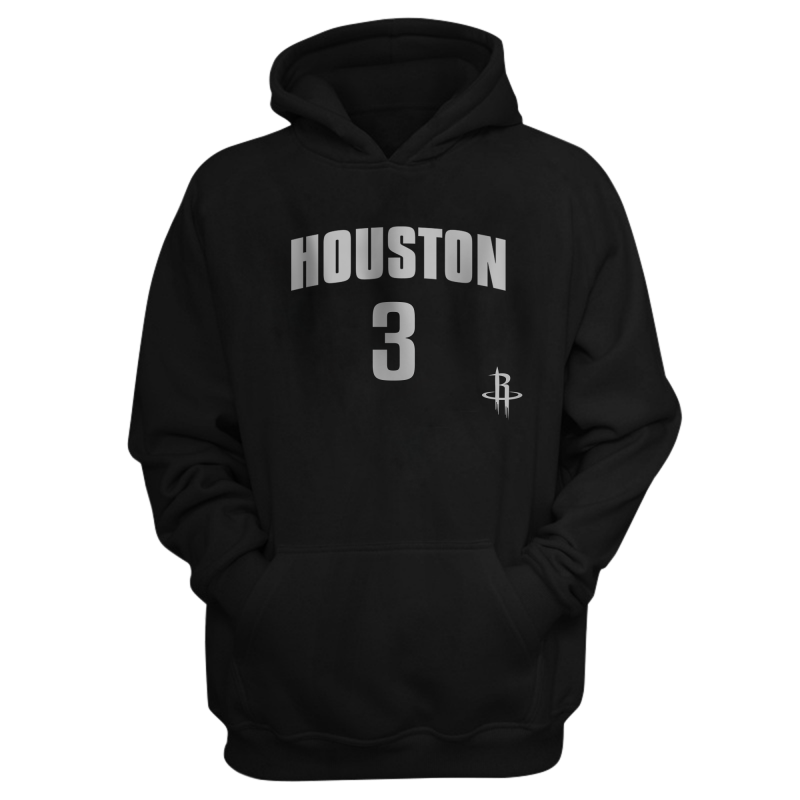 Houston Rockets Hakeem Olajuwon Hoodie (HD-RED-PLT- Olajuwon34-614)