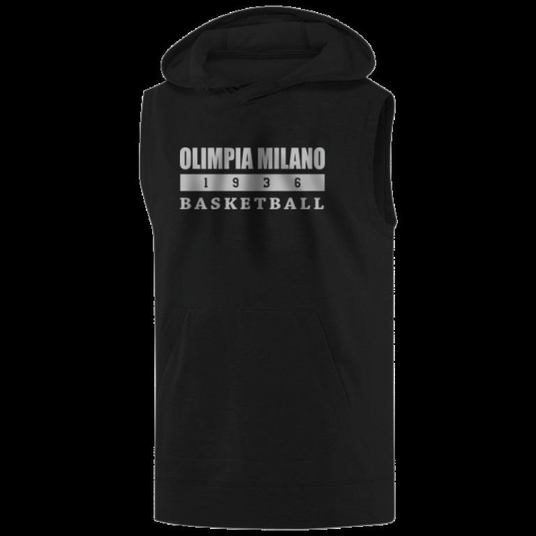 Olimpia Milano Sleeveless (KLS-BLC-NP.olimpia.bsktbll-626)
