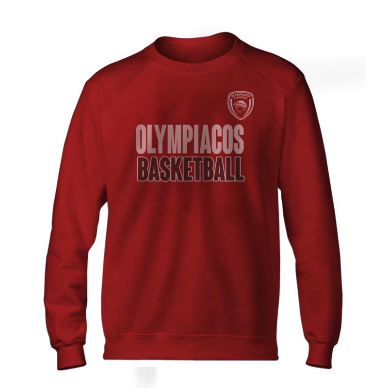 Olympiakos Basic (BSC-RED-NP-229-EURO-OLYM-BASKETBALL)