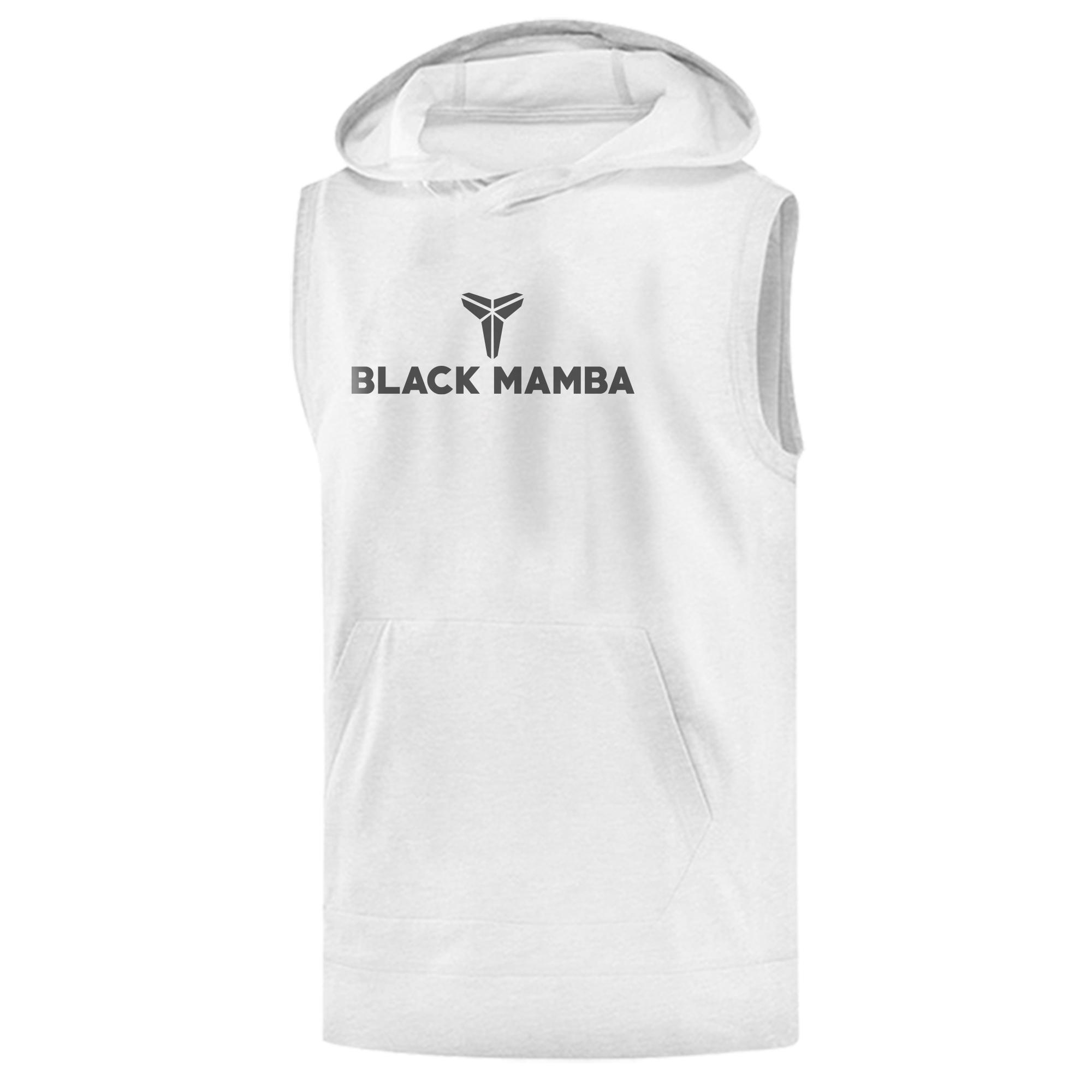 Kobe Bryant Sleeveless (KLS-WHT-NP-388-BLACK.MAMBA)