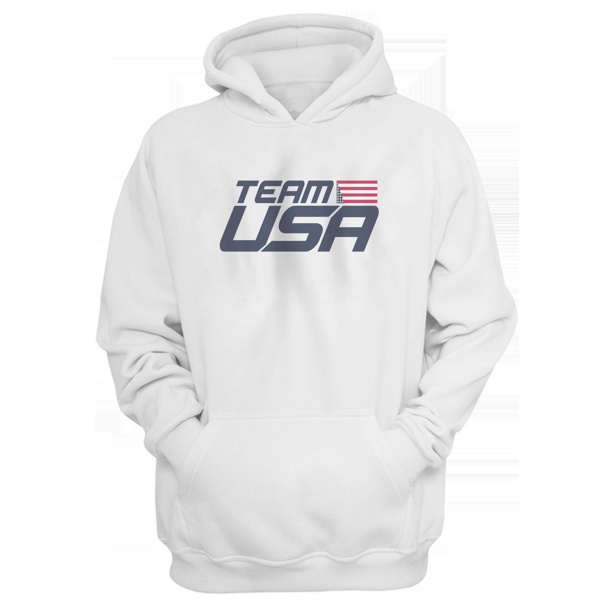 Olympic Team Team U.S.A  Hoodie (HD-WHT-312-NBA-TEAMUSA)