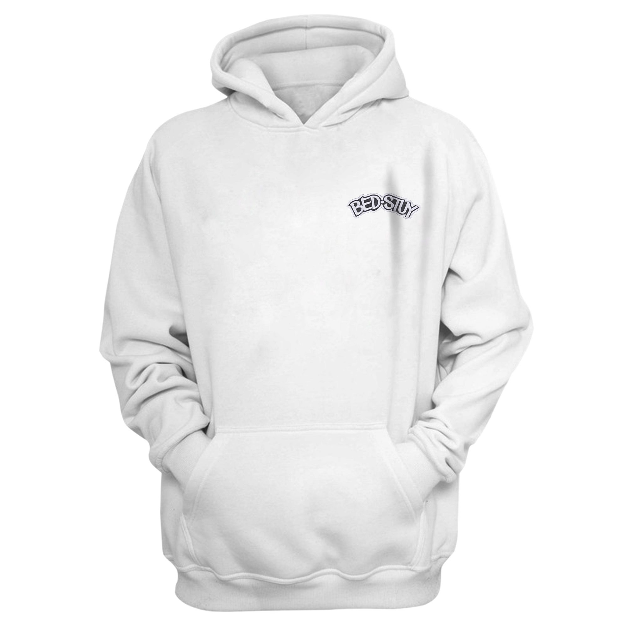 Brooklyn Nets Bed Stuy Hoodie (Örme)  (HD-BLC-EMBR-BEDSTUY)