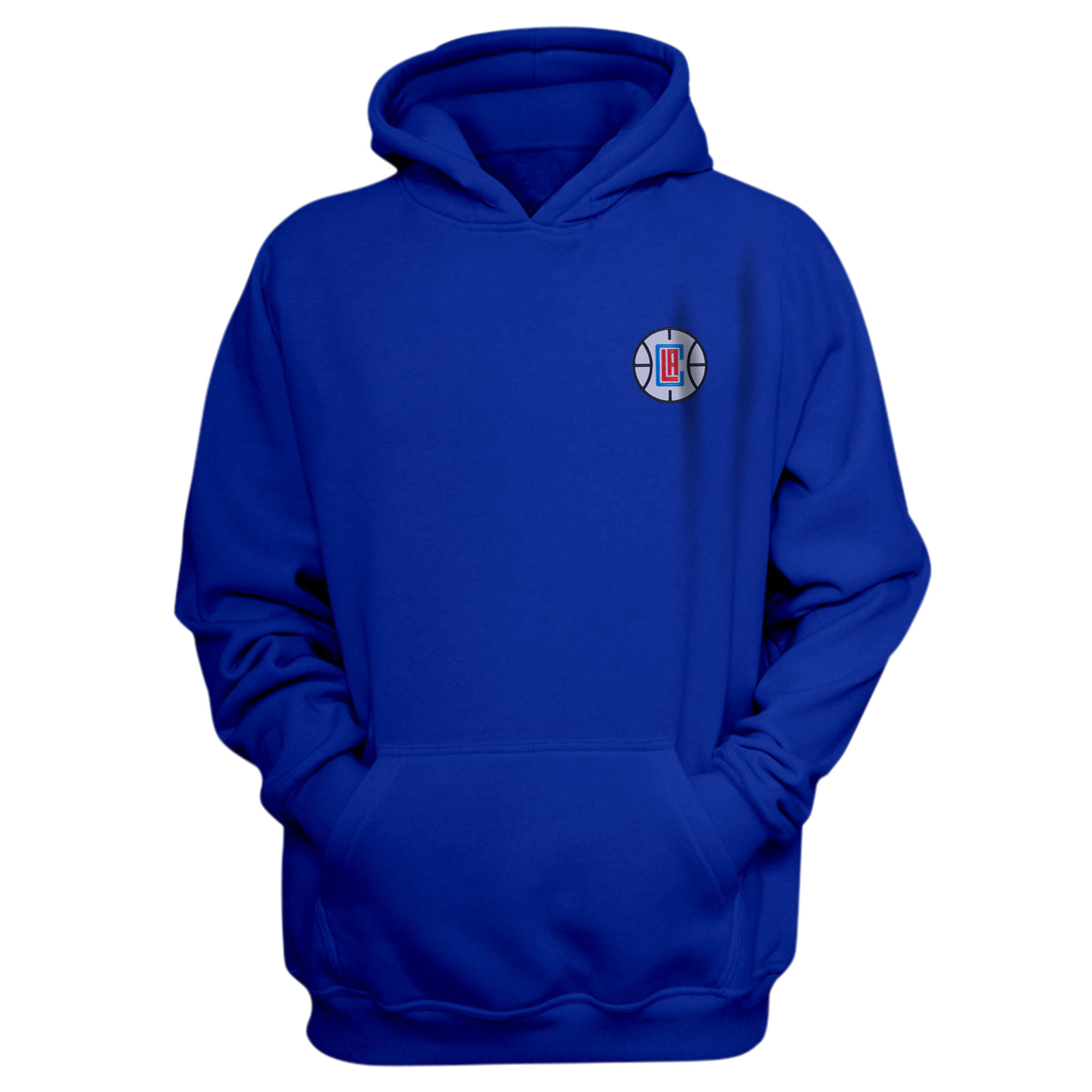 L.A. Clippers Hoodie (Örme)  (HD-BLU-EMBR-CLIPPERS)