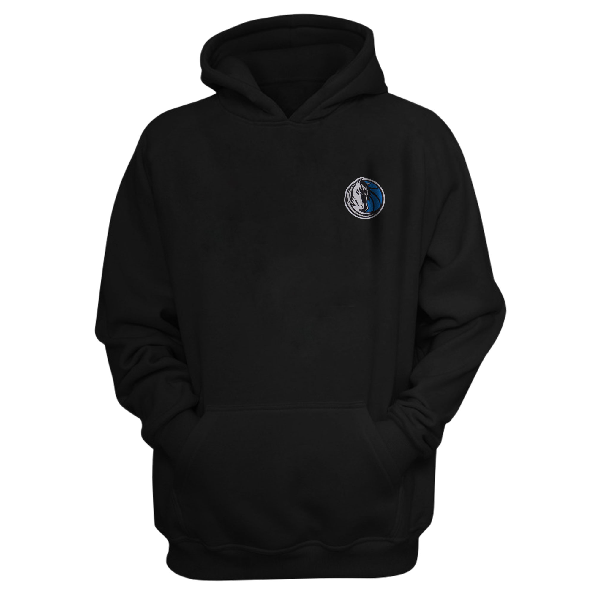 Dallas Mavericks Hoodie (Örme)  (HD-BLC-EMBR-DALLAS)