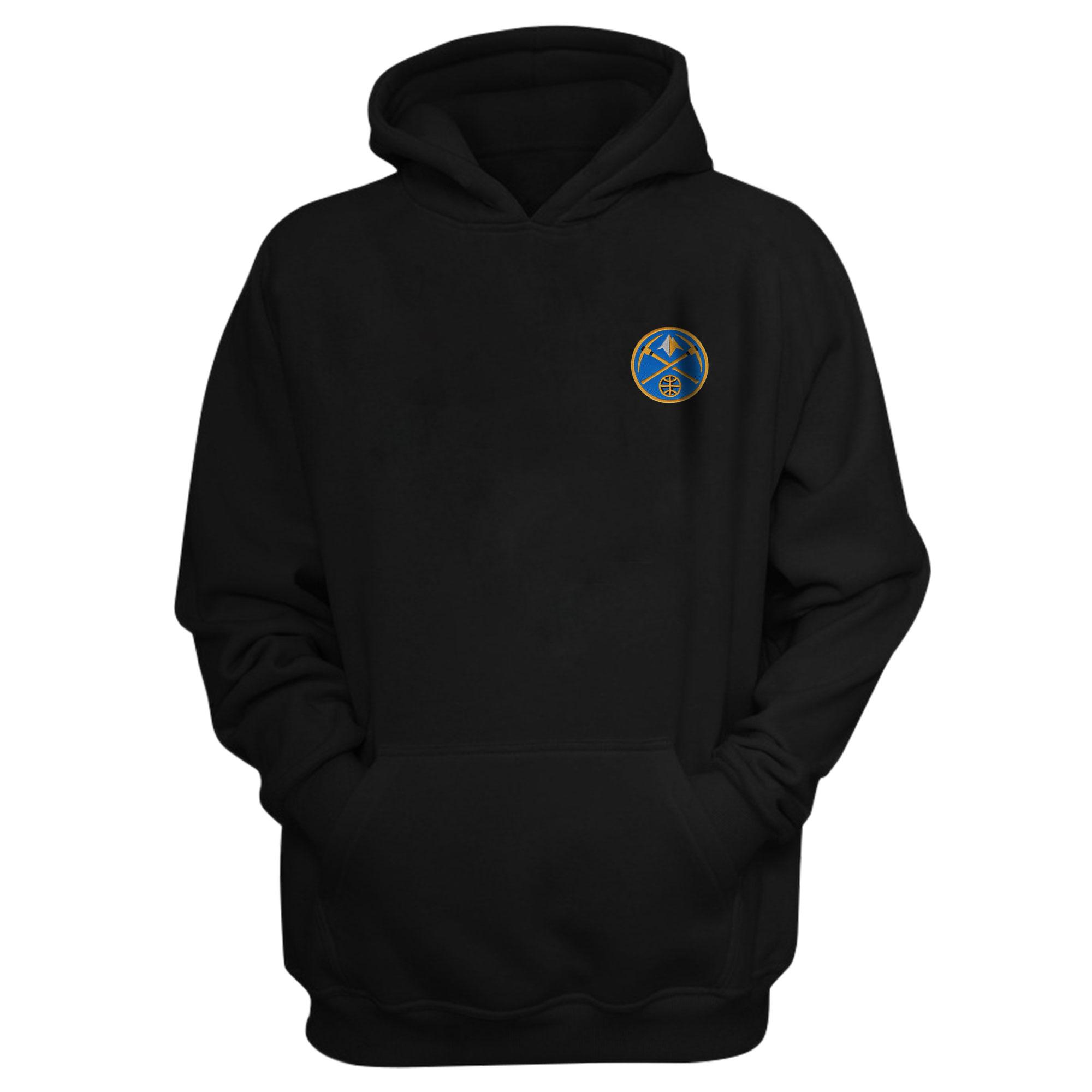 Denver Nuggets Hoodie (Örme)  (HD-BLC-EMBR-NUGGETS)