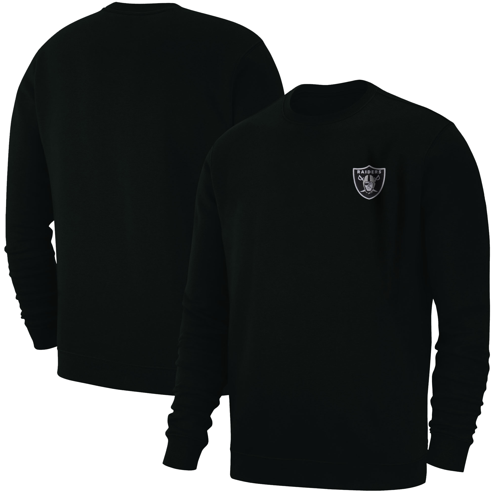 Oakland Raiders Basic (Örme)  (BSC-BLC-EMBR-RAIDERS)