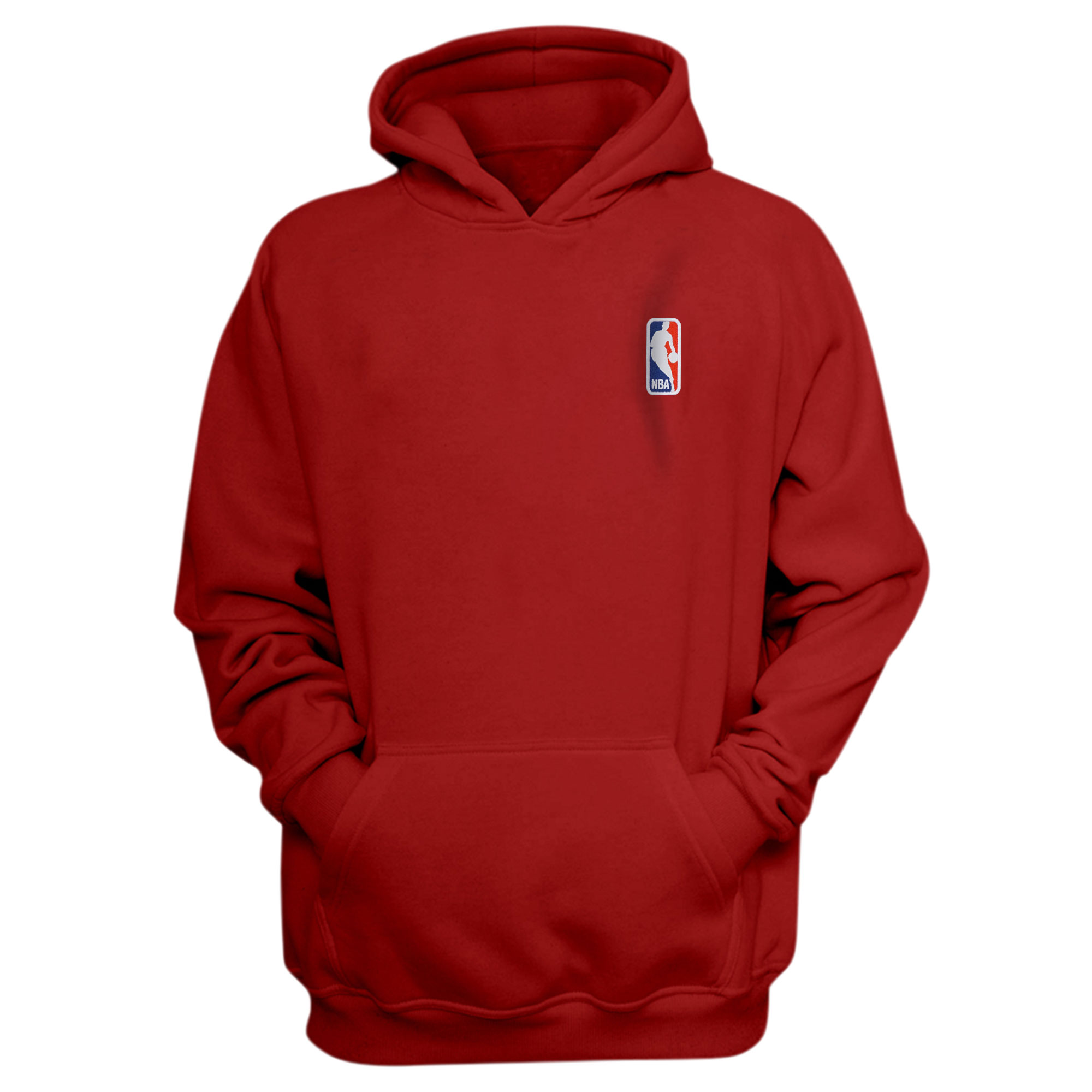 Nba Logo Gear NBA Logo Hoodie (Örme)  (HD-BLU-EMBR-NBA-LOGO)
