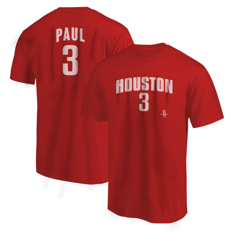 Houston Rockets Chris Paul Tshirt (TSH-BLC-PLT-Paul3-605)