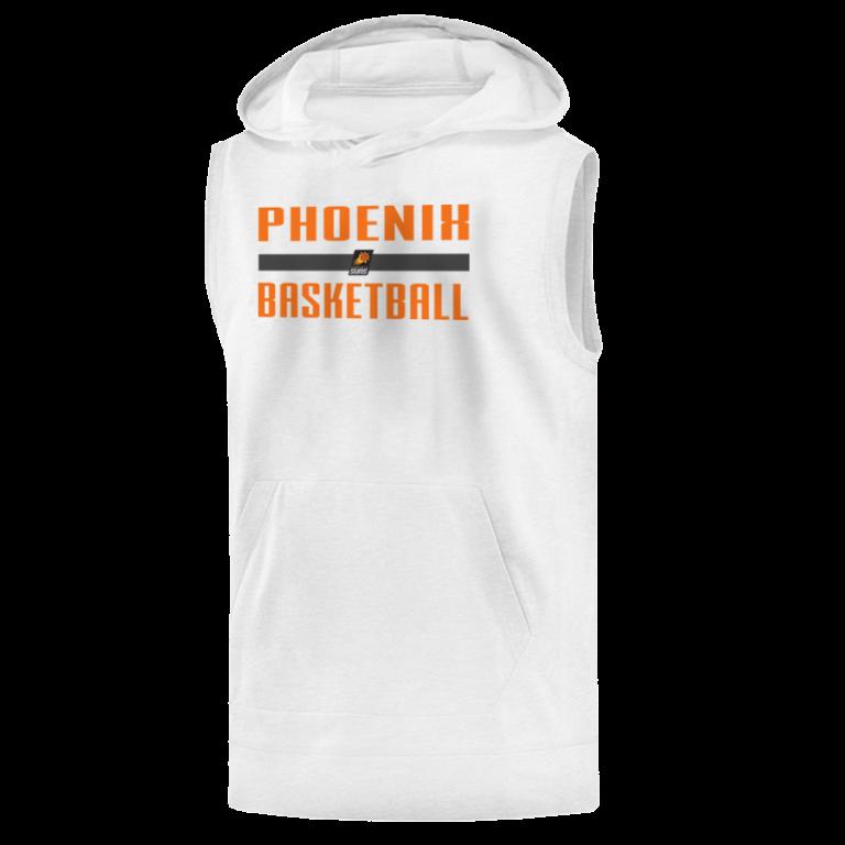 Phoneix Suns Basketball Sleeveless (KLS-wht-NP-Phoneix-bsktball)