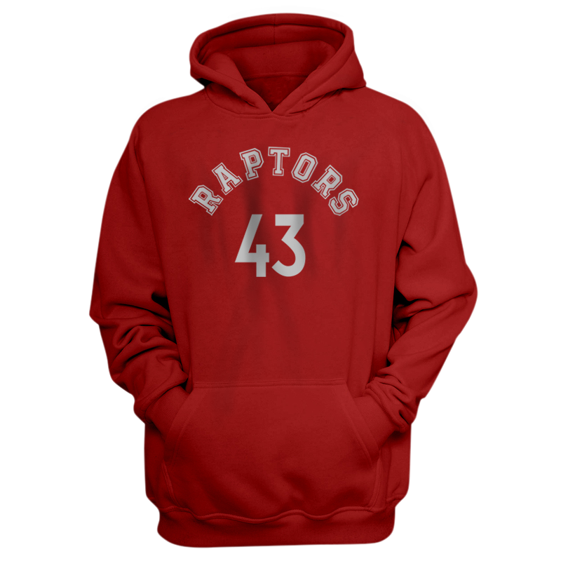 Toronto Raptors Pascal Siakam Hoodie (HD-BLC-PLT-tor-PascalSiakam-627)