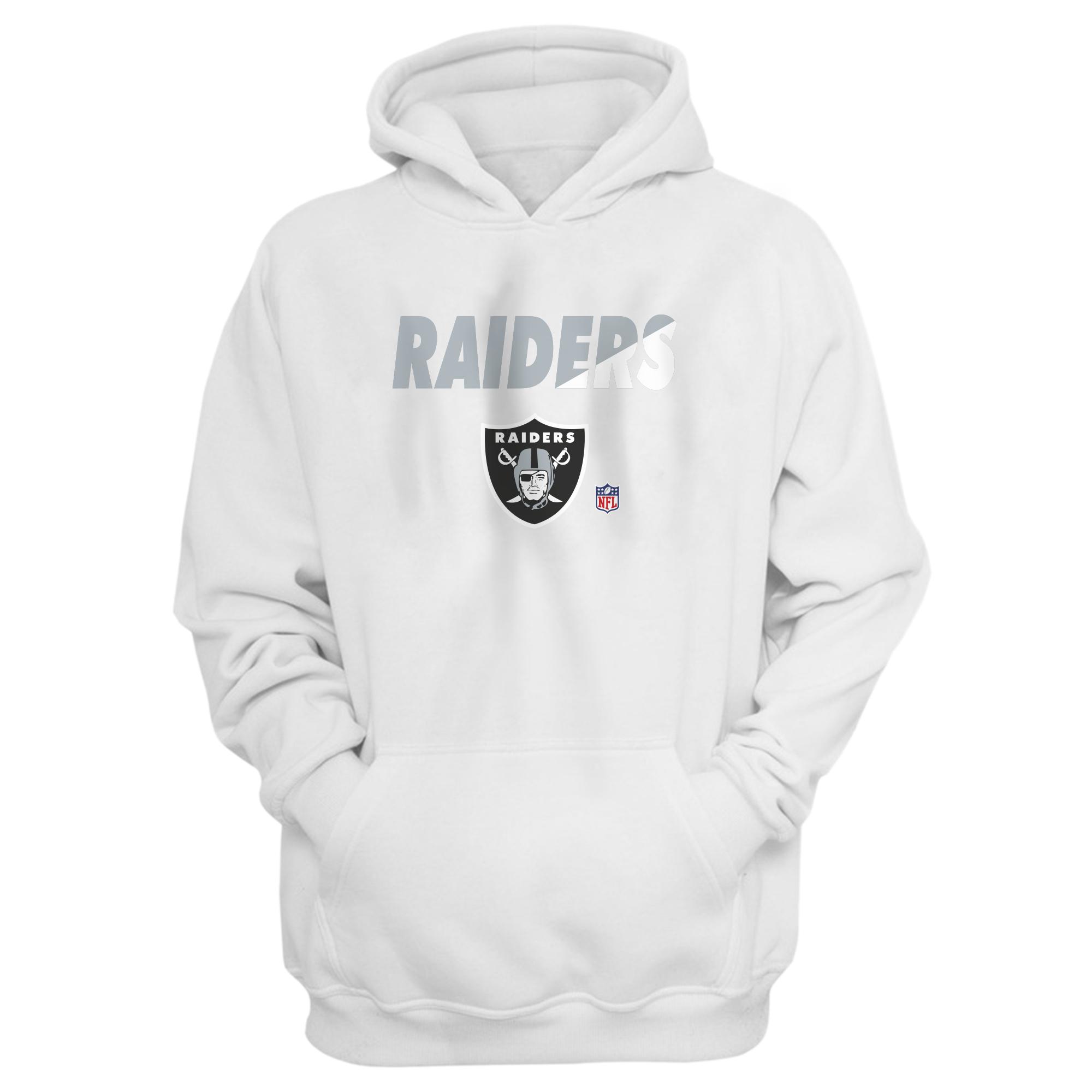 Oakland Raiders Hoodie (HD-WHT-NP-214-NFL-OAK-RAIDERS)
