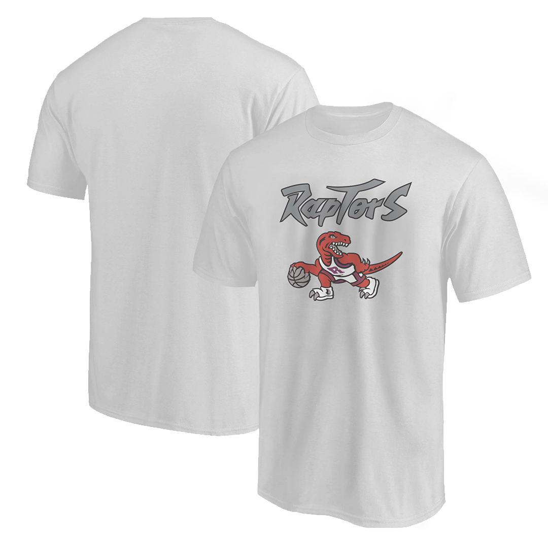 Toronto Raptors Tshirt (TSH-WHT-NP-198-NBA-TOR-RAPTORS.LOGO)