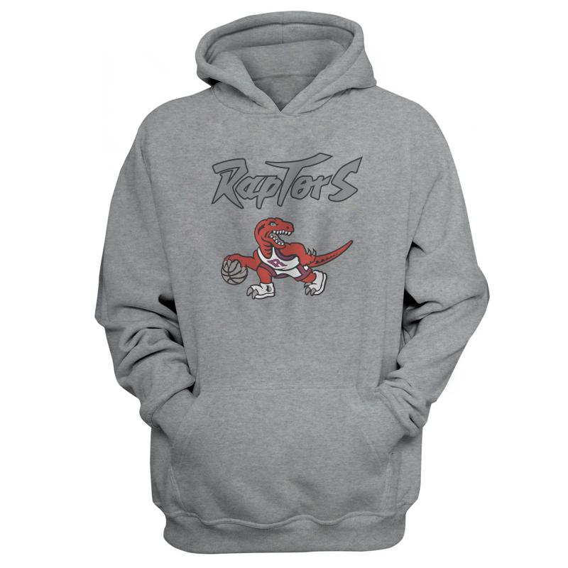 Toronto Raptors Hoodie (HD-GRY-NP-198-NBA-TOR-RAPTORS.LOGO)