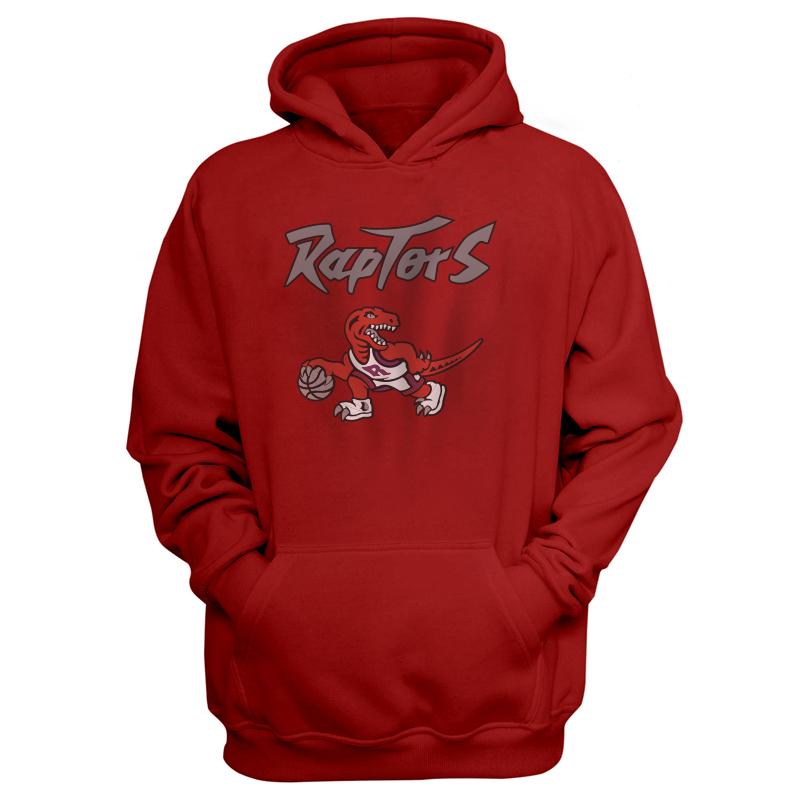 Toronto Raptors Hoodie (HD-RED-NP-198-NBA-TOR-RAPTORS.LOGO)