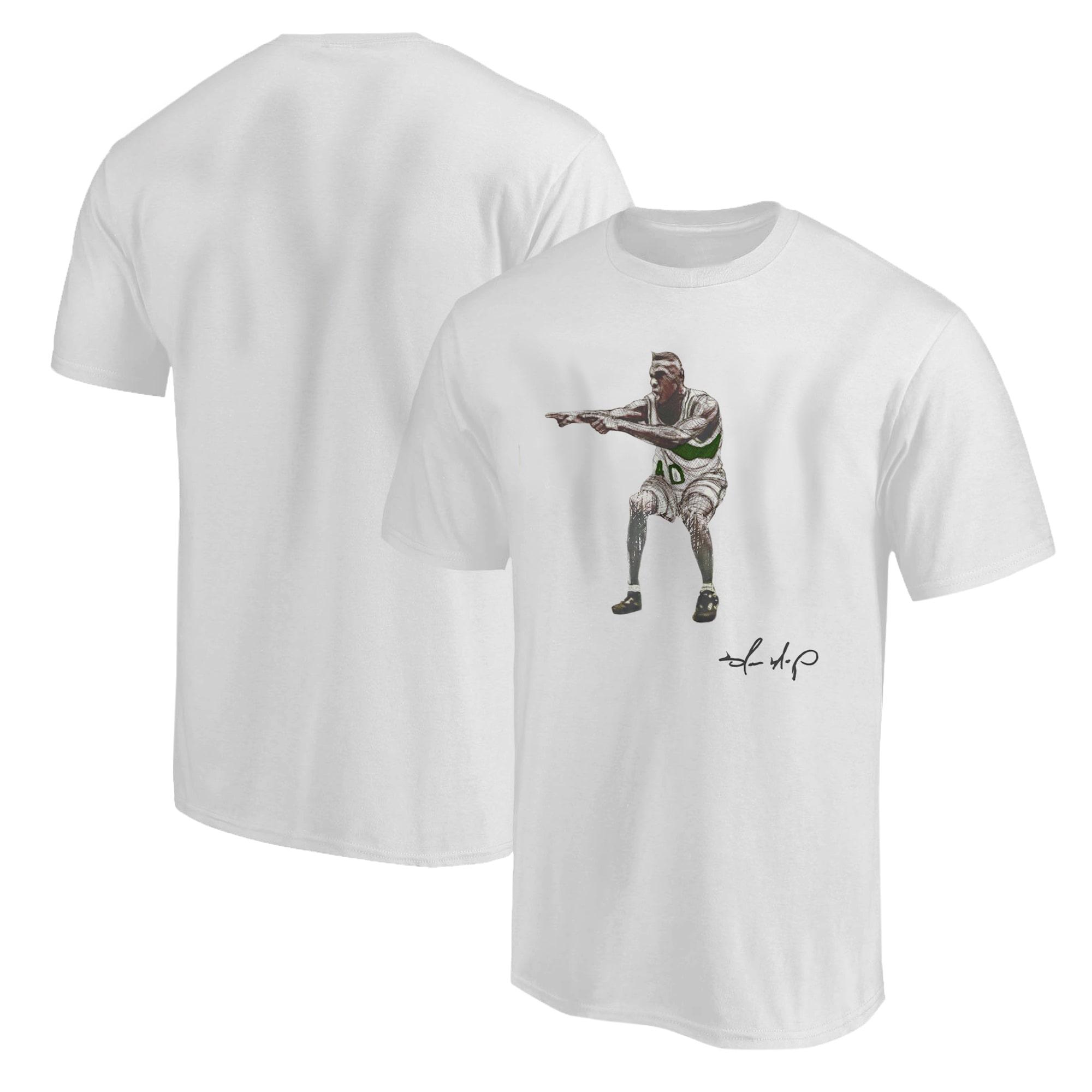 Shawn Kemp Tshirt (TSH-WHT-NP-PLYR-Shawn.Kemp-538)