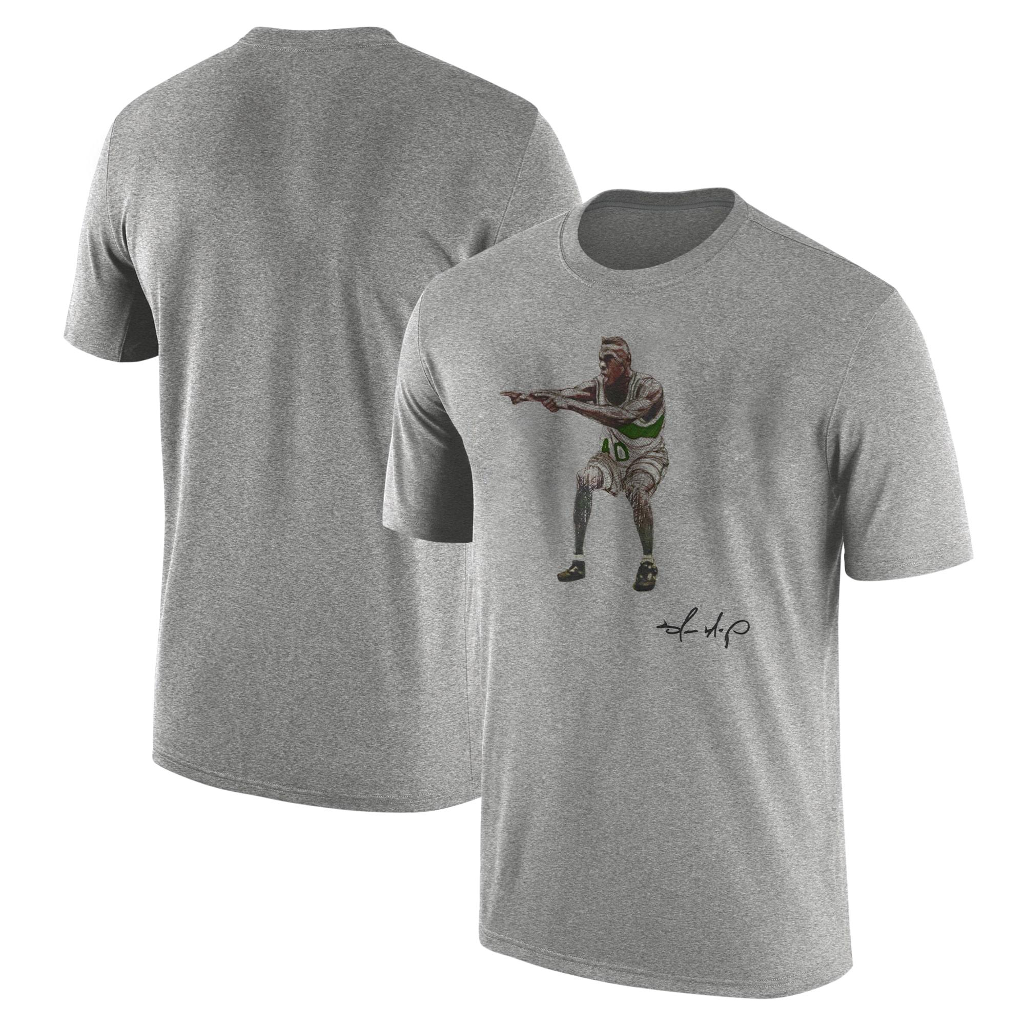 Shawn Kemp Tshirt (TSH-GRY-NP-PLYR-Shawn.Kemp-538)