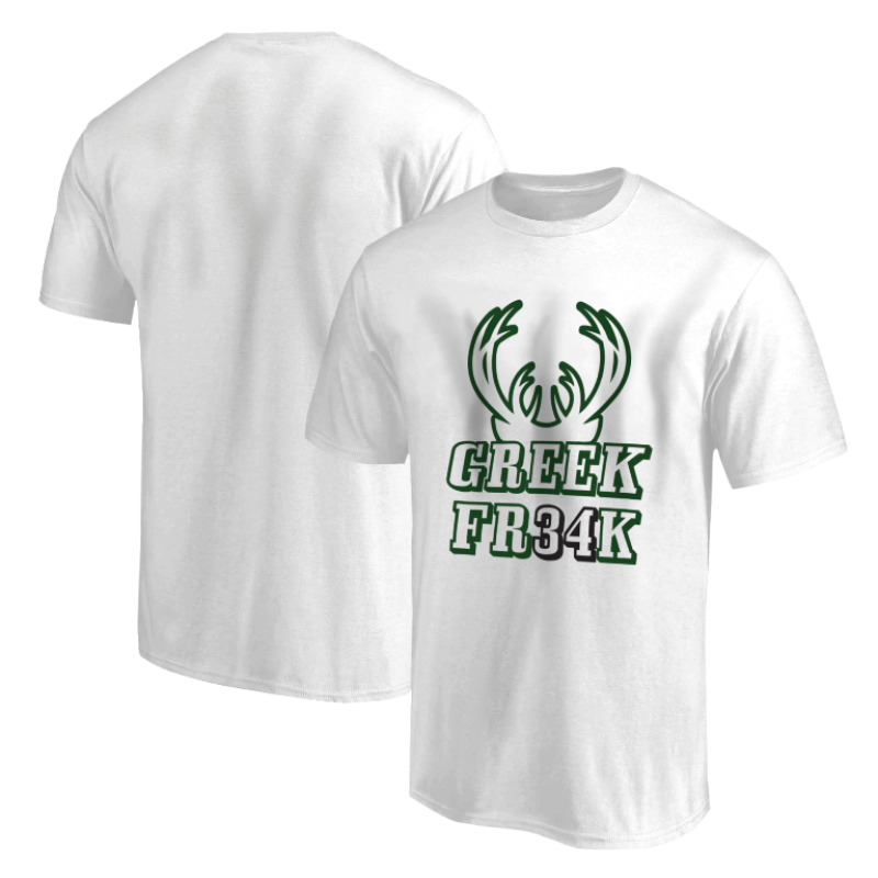 Milwaukee Bucks Milwaukee Greek Freak Tshirt (TSH-GRY-373.greekfreak34)
