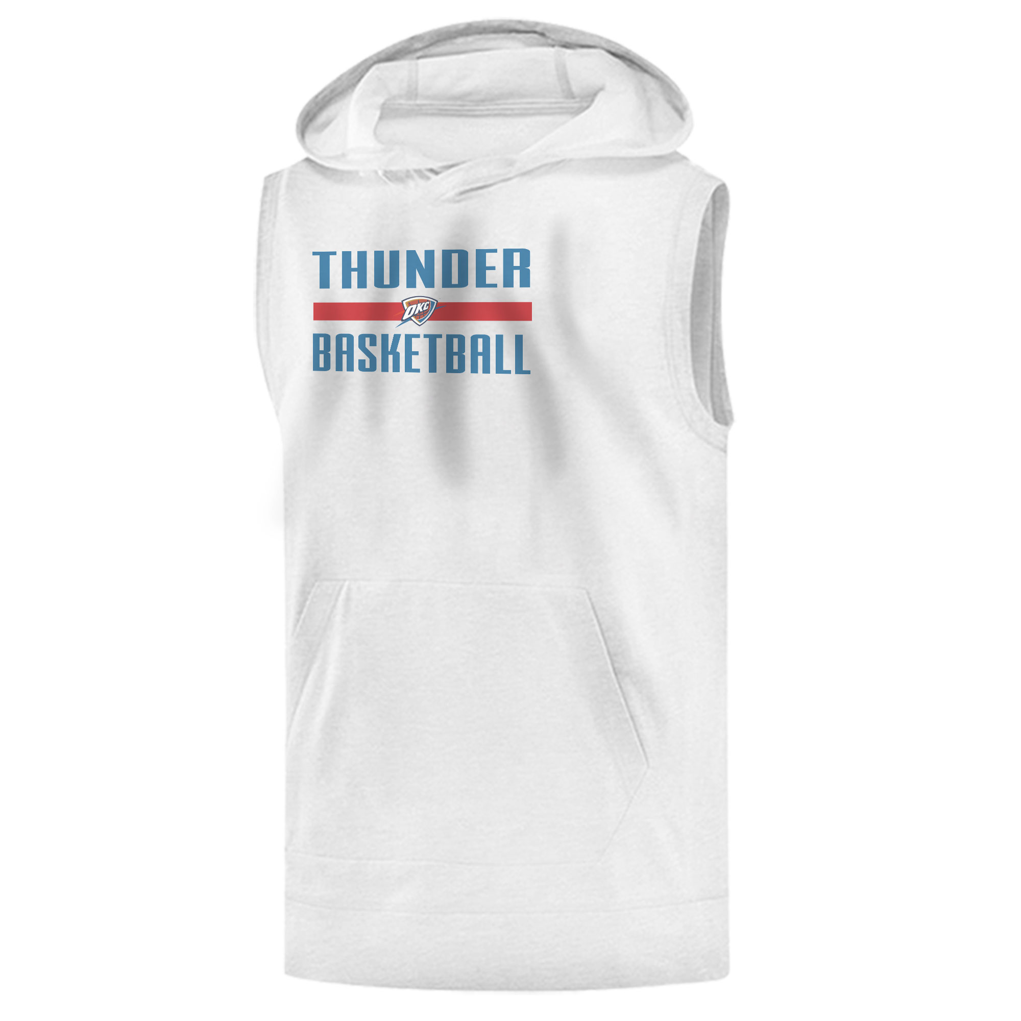 Oklahoma City Basketball Sleeveless (KLS-WHT-444-okc.bsktbll)